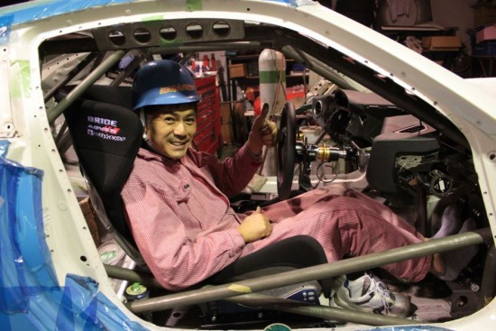 orido manabu toyota 86 v8 d1gp build rollcage - orido manabu toyota 86 v8 d1gp build rollcage photo