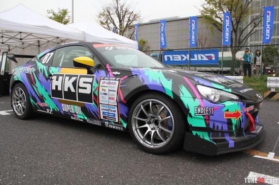 Toyota 86 d1gp Odaiba tokyo drift 02 HKS - Toyota 86 d1gp Odaiba tokyo drift 02 HKS photo