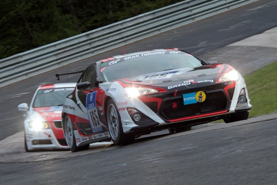 Gazoo Racing N24 - Photo: Gazoo Racing Toyota 86 participating in Nurburgring 24 hour race SP3 class.