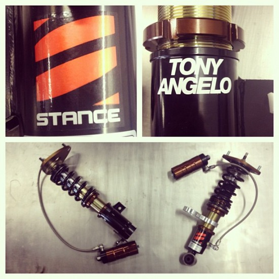stance usa tony angelo coilovers - stance usa tony angelo coilovers photo image