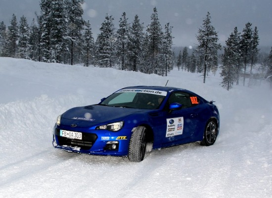 05 Horst Subaru BRZ winter rally test - 05 Horst Subaru BRZ winter rally test