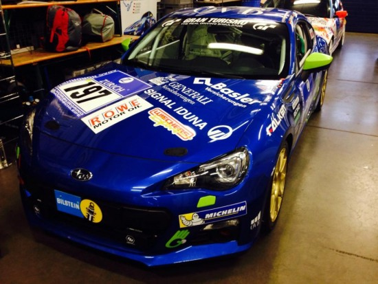 14 Horst Subaru BRZ before race nurburgring 24 hour - 14 Horst Subaru BRZ before race nurburgring 24 hour