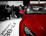 Toyota FT86 at Paris Auto Show 2010
