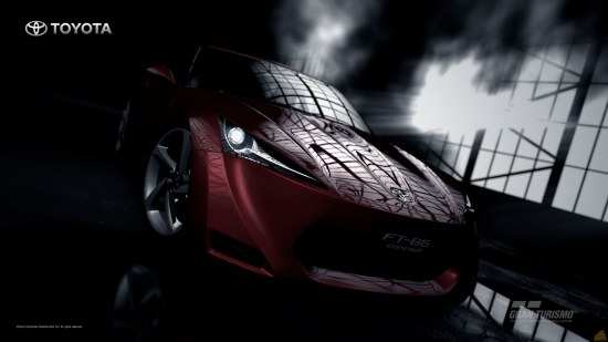 Excellent pic of FT-86 in Gran Turismo 5