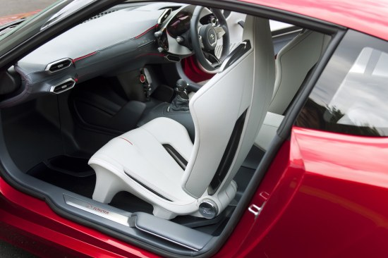 Toyota FT-86 Concept first design reveal, interior