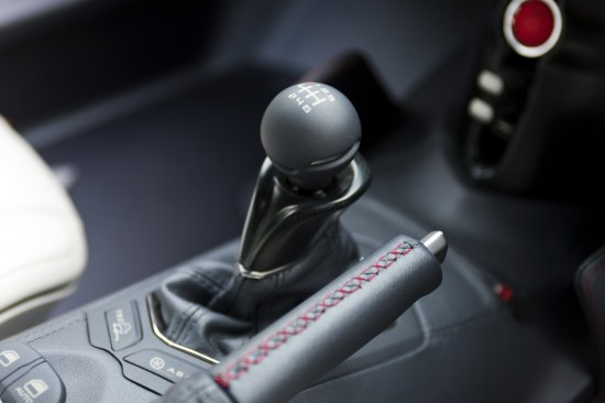 Toyota FT-86 Concept first design reveal, interior gear shifter