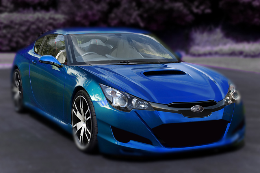 conncept photochop subaru ft-86 216a 086a photoshopped design photo