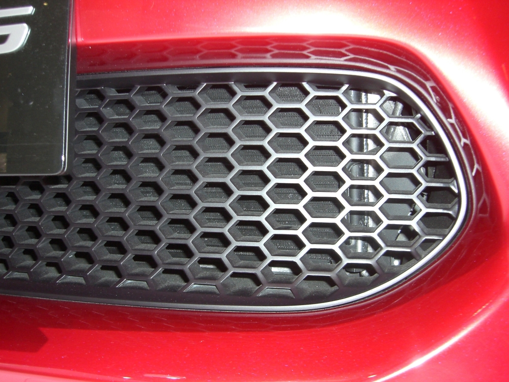 toyota ft-86 concept  radiator grille