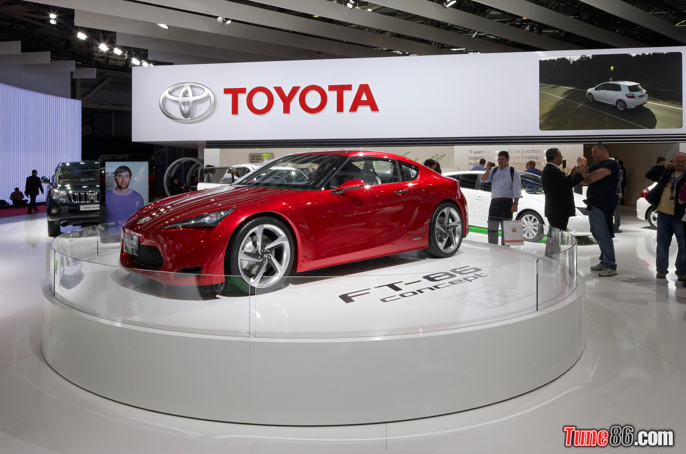 Toyota FT Concept At Paris Motor Show TUNE - Toyota show car