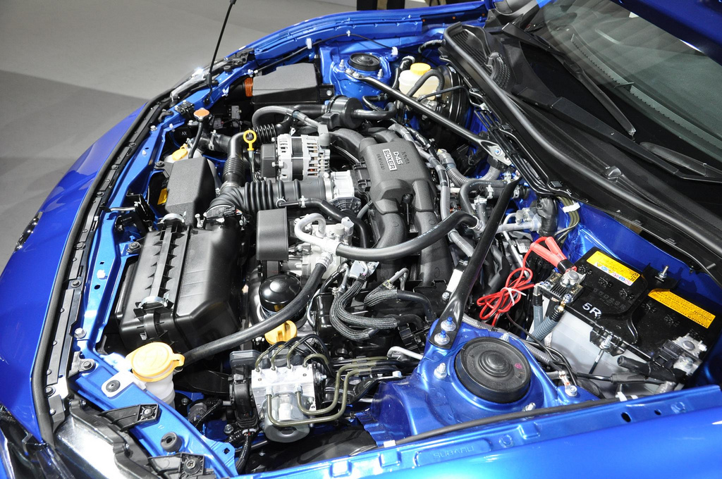 Subaru BRZ engine bay d4s motor 04