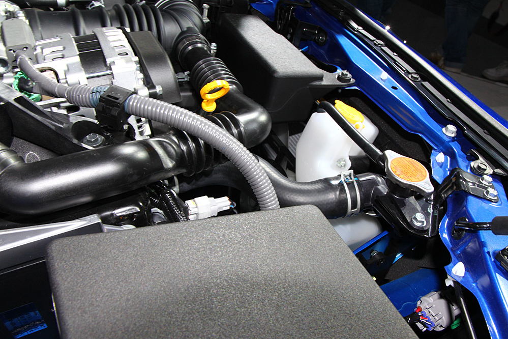 Subaru BRZ engine bay d4s motor 08