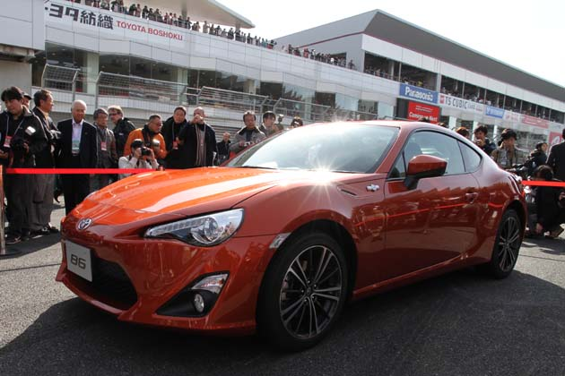 Toyota 86 at Gazoo Racing Motorsports Festival 2011, photo03