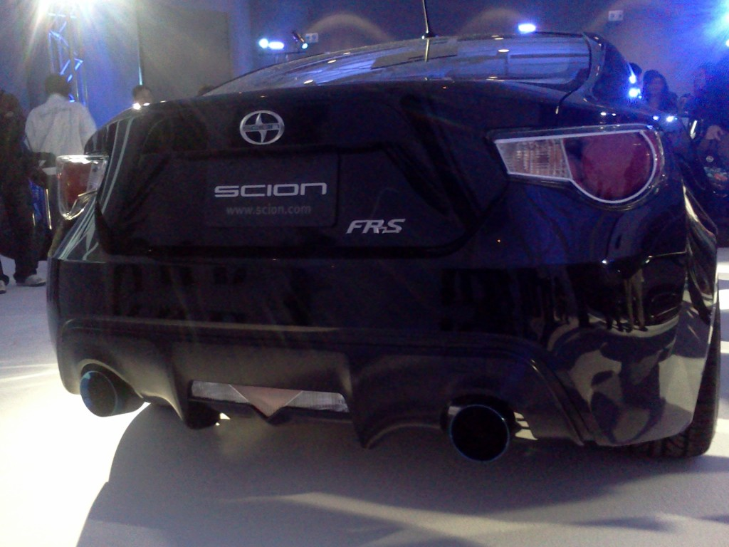 Scion FRS frs reveal 12