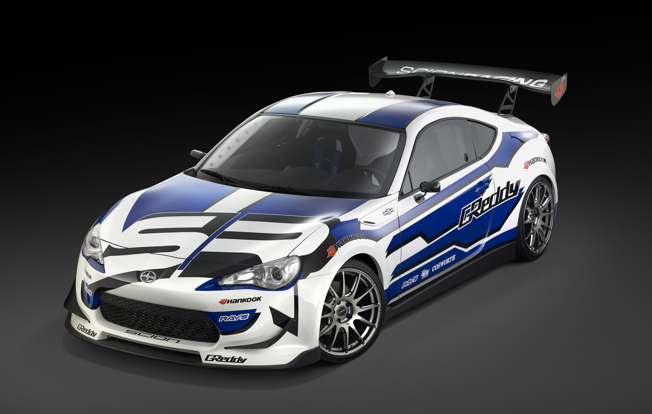 scion fr s race car debuts at detroit auto show 2012 with video tune86. Black Bedroom Furniture Sets. Home Design Ideas