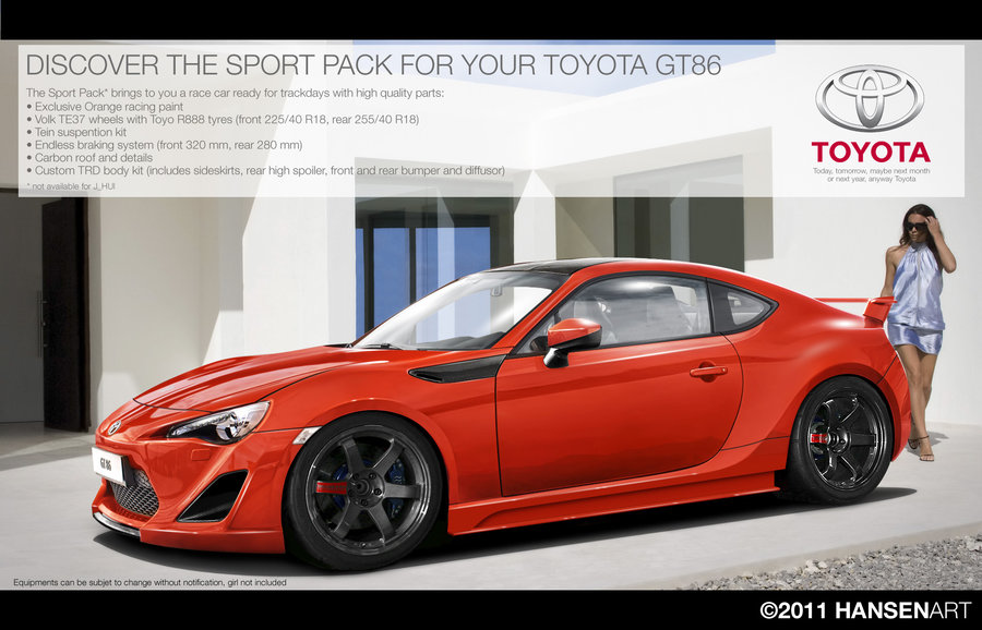 Toyota Ft86 2018 >> Photochopped FT-86 images (own or others on internet) | Forum topic | TUNE86