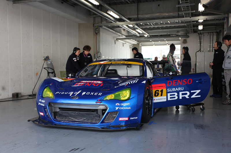 Subaru BRZ Super GT 300 4b
