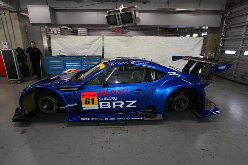 Subaru BRZ Super GT 300 7b