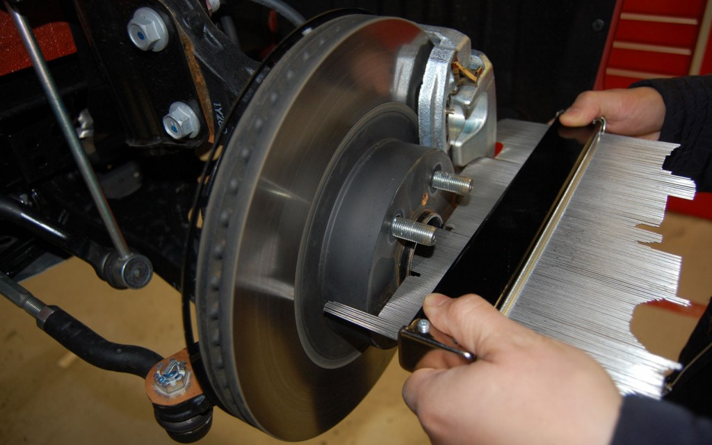 Scion FRS Measuring Session brake rotor 1