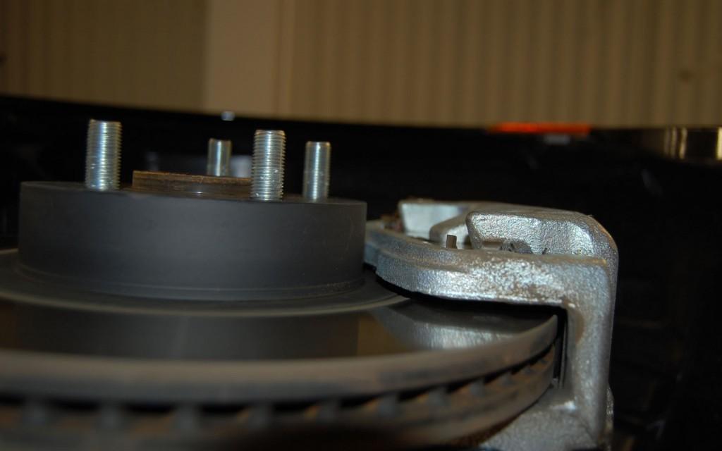 Scion FRS Measuring Session brake rotor 2