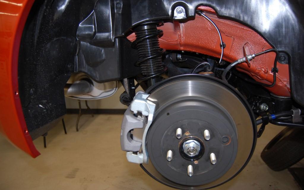 Scion FRS Measuring Session rear suspension 2