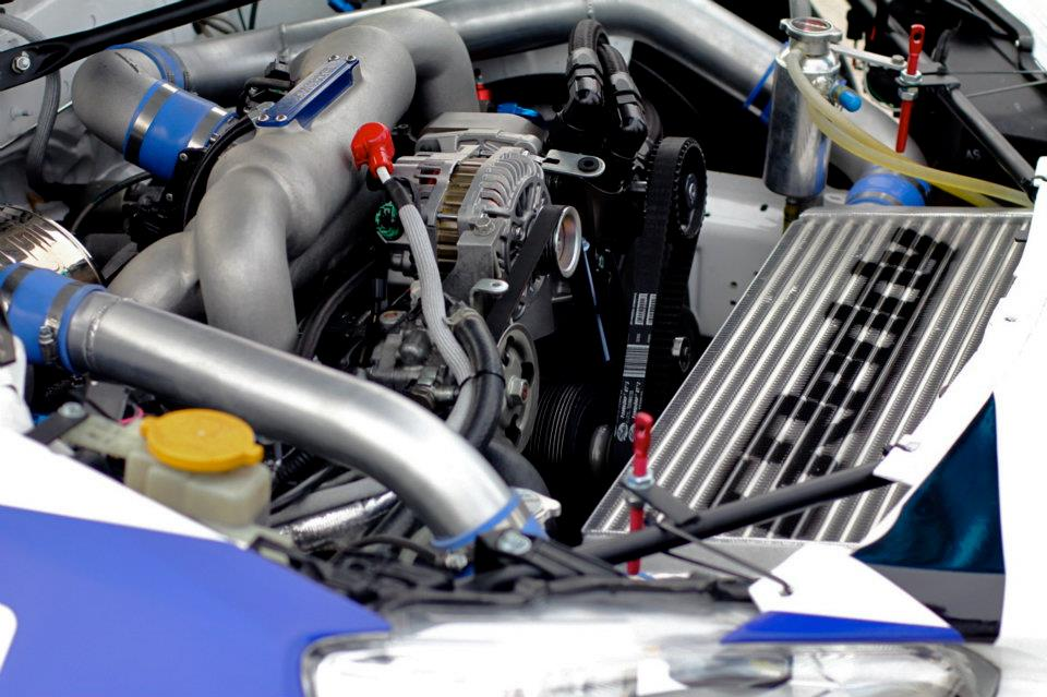 Scion FRS frs Greddy drift race test engine bay