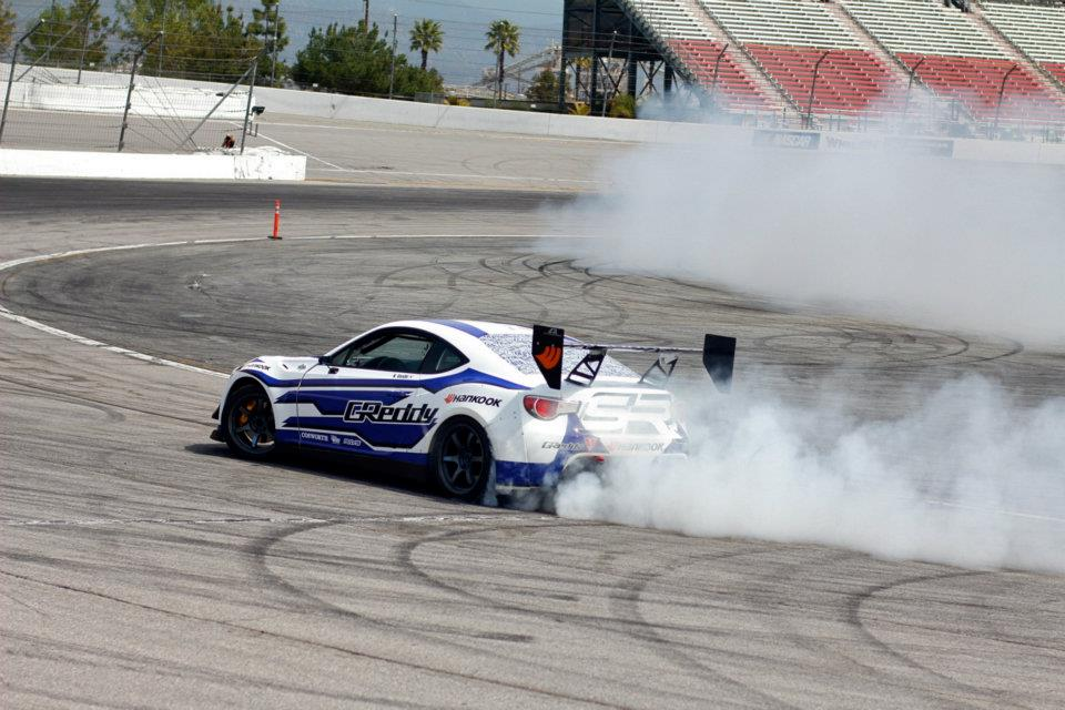 Scion greddy Racing FRS drift FD test 09