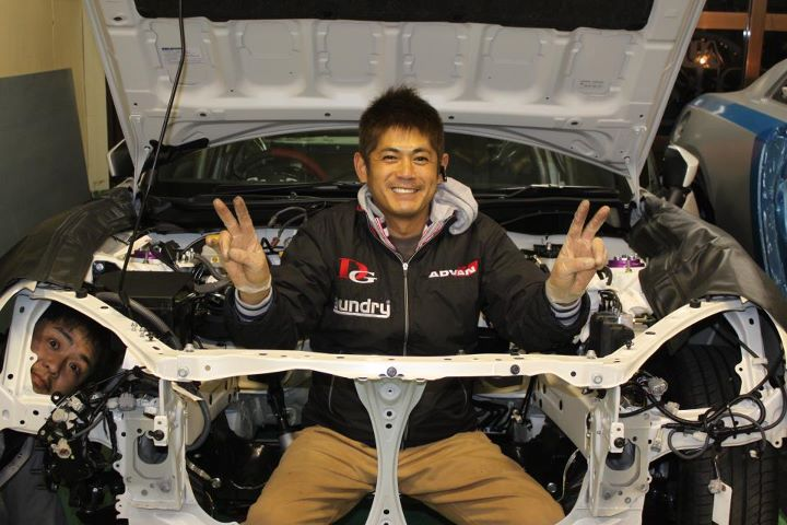 orido manabu toyota 86 v8 d1gp build 04