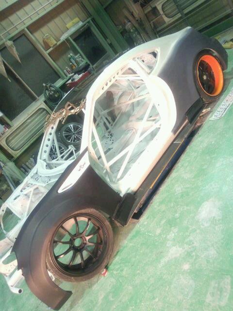 orido manabu toyota 86 v8 d1gp build aero varis bodykit