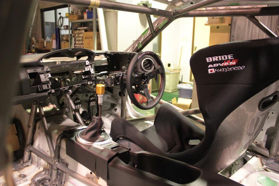 orido manabu toyota 86 v8 d1gp build interior seat