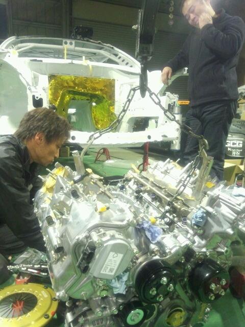 orido max manabu d1 toyota86 enginelift