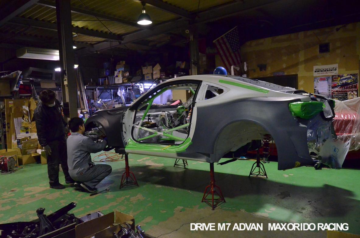 orido max manabu d1gp toyota 86 build 06 bodykit aero