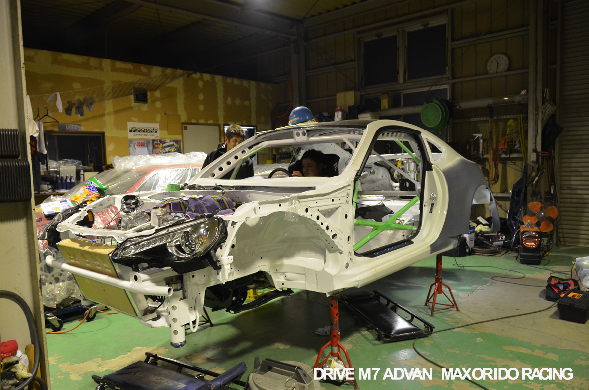 orido max manabu d1gp toyota 86 build 18chassis
