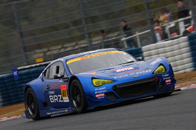 SUPER GT pre-season test for BRZ GT300   TUNE86
