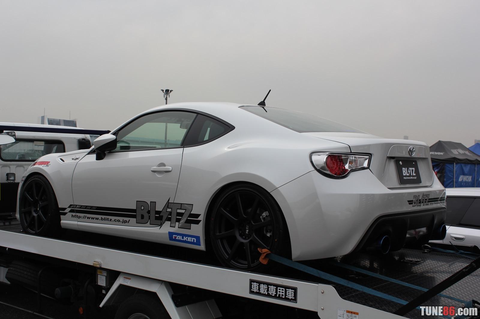 Toyota 86 d1gp Odaiba tokyo drift 01 Blitz