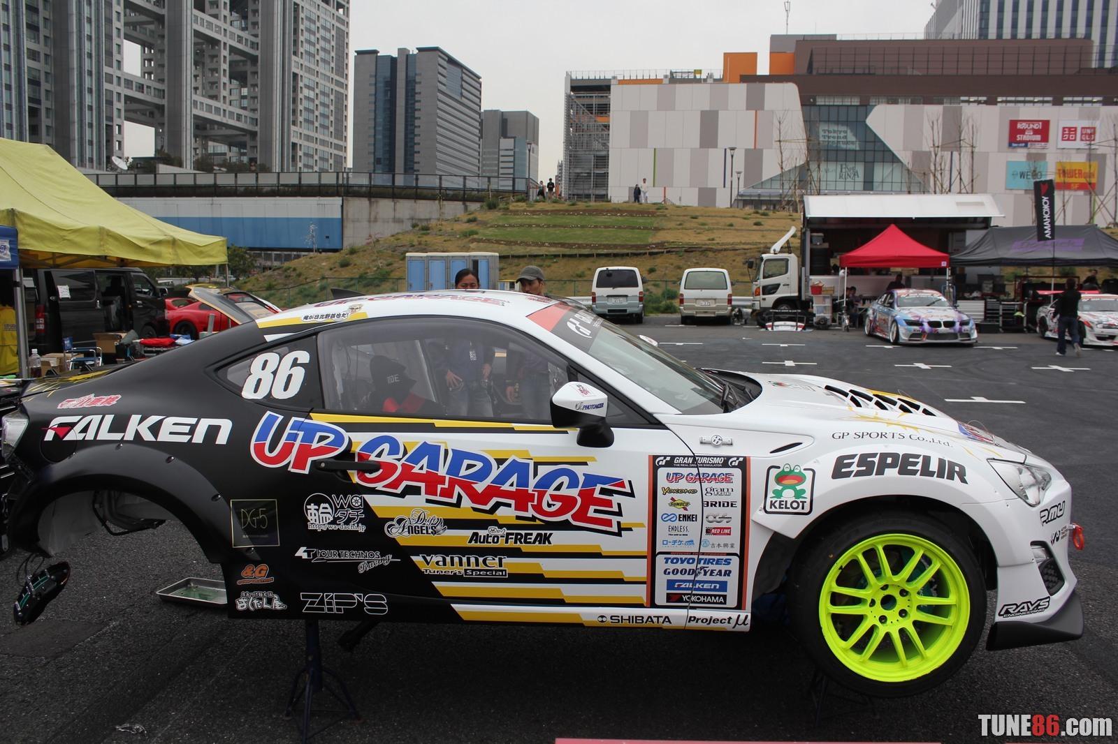 Toyota 86 d1gp Odaiba tokyo drift 19 DRoop Hibino Upgarage