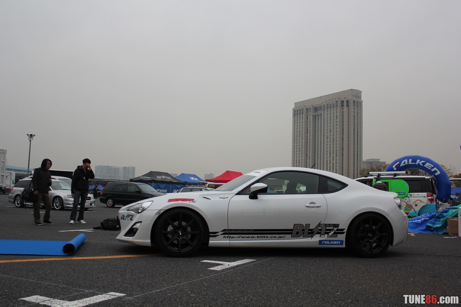 Toyota 86 d1gp Odaiba tokyo drift 34 Blitz