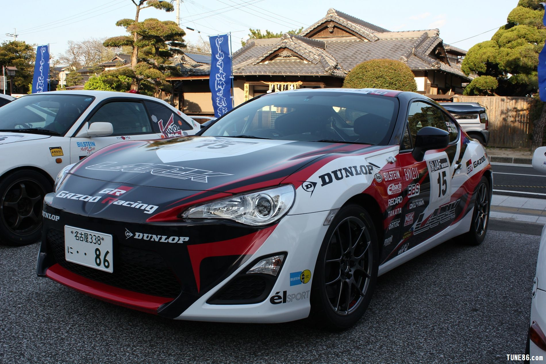 toyota 86 rally luck karatsu kyushu japan gazoo racing 16