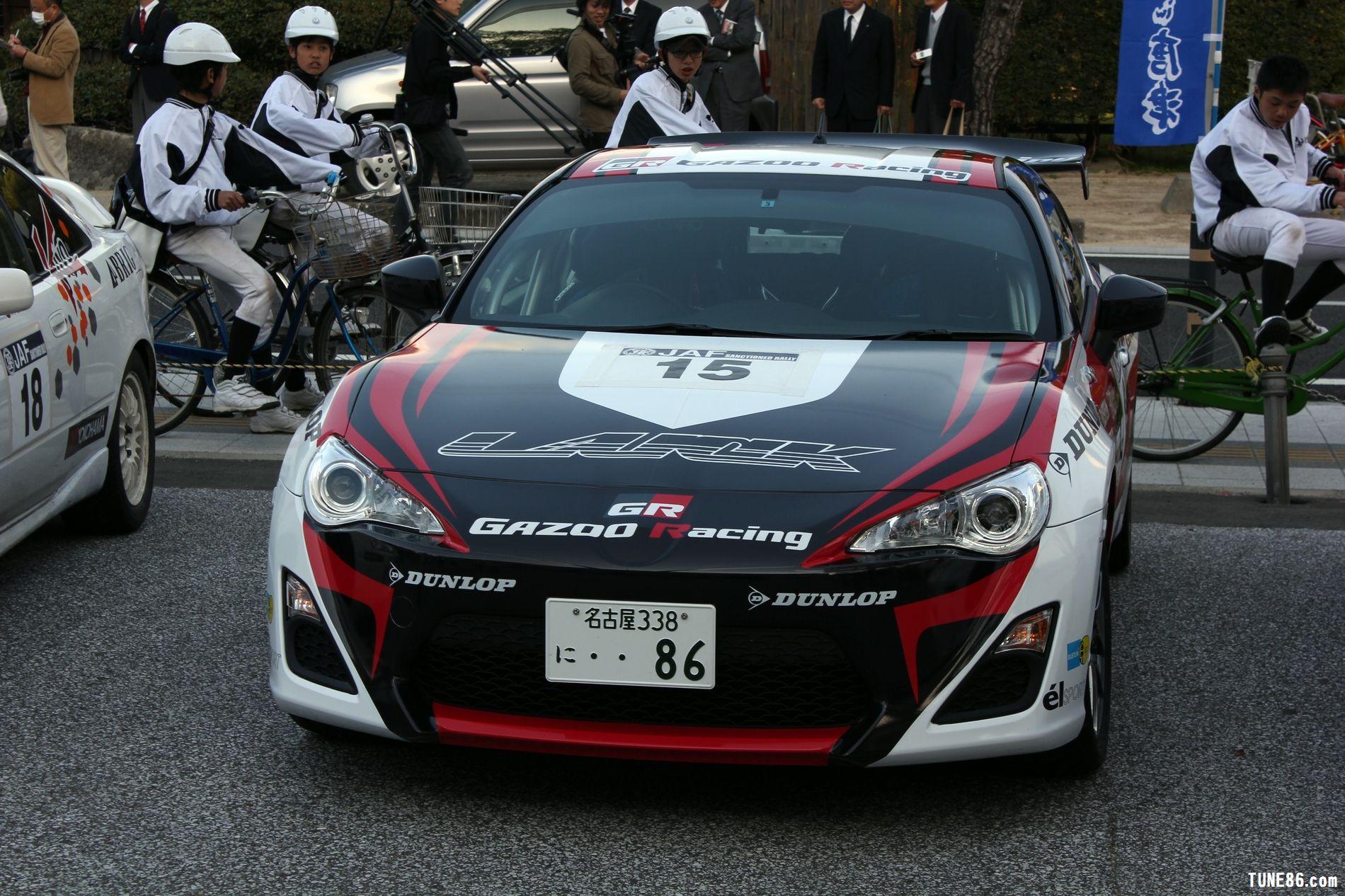 toyota 86 rally luck karatsu kyushu japan gazoo racing 18