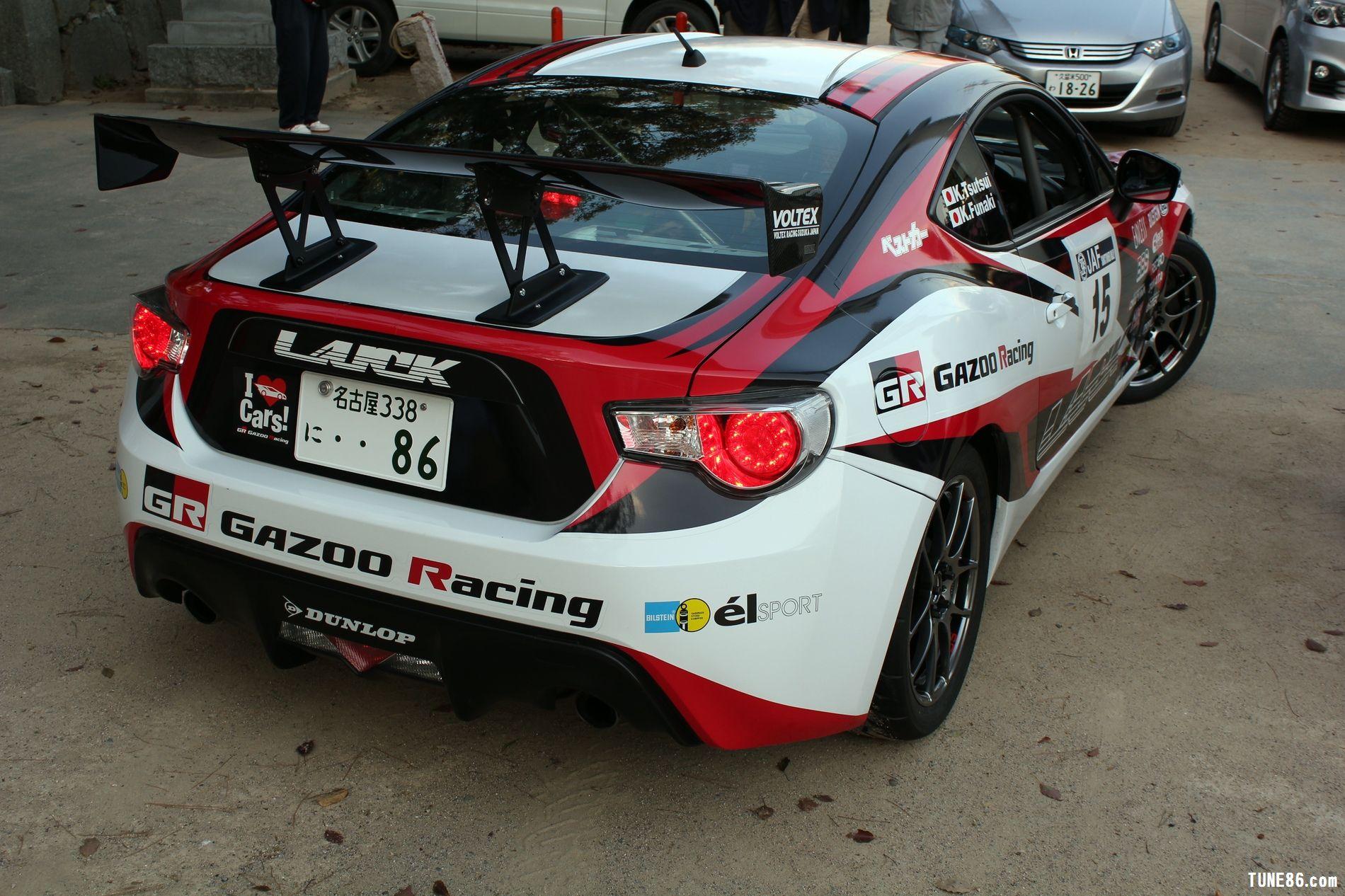 toyota 86 rally luck karatsu kyushu japan gazoo racing 23