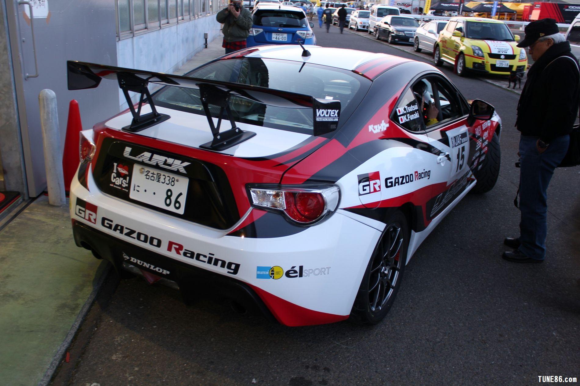 toyota 86 rally luck karatsu kyushu japan gazoo racing 36
