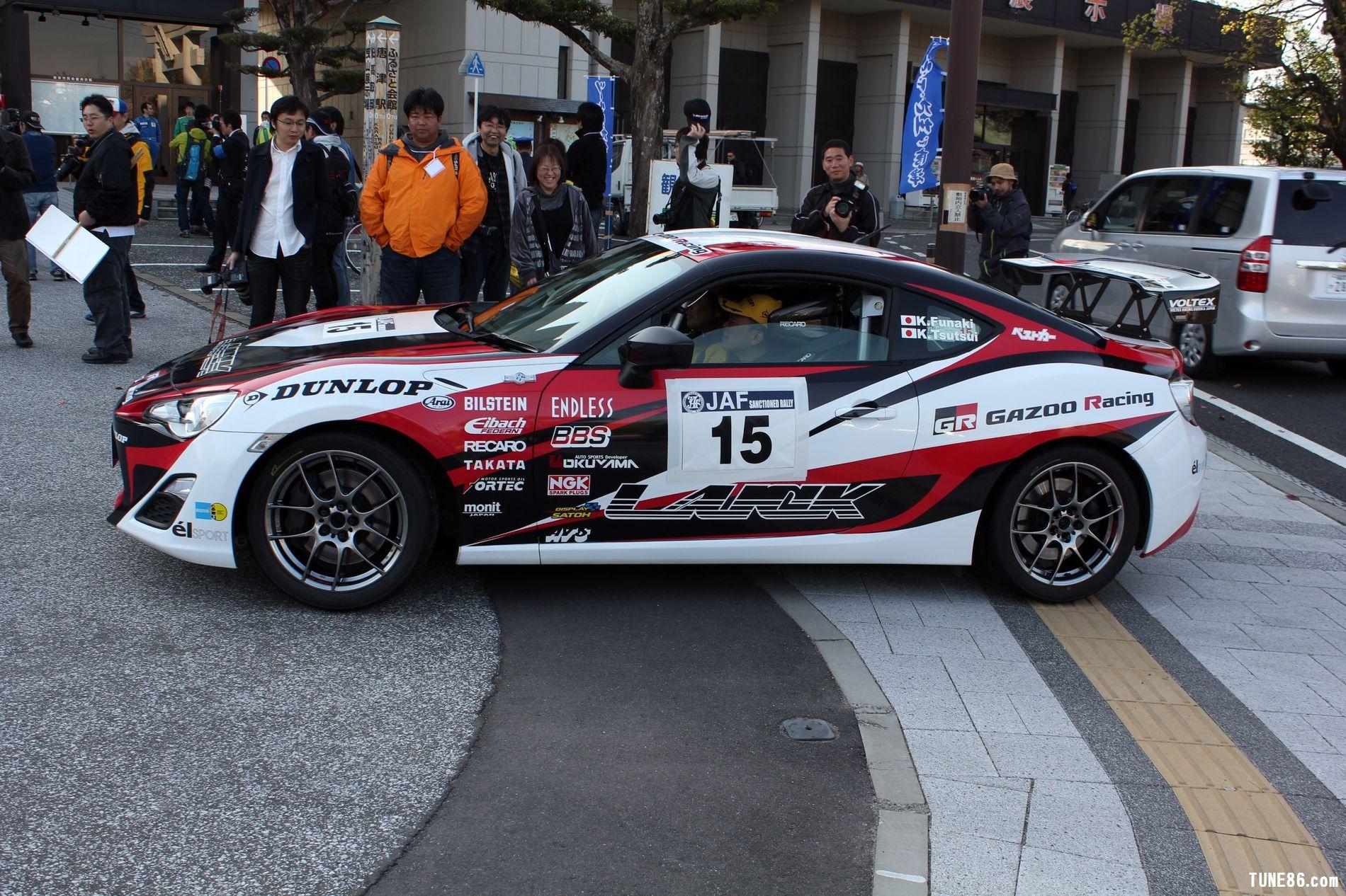 toyota 86 rally luck karatsu kyushu japan gazoo racing 4