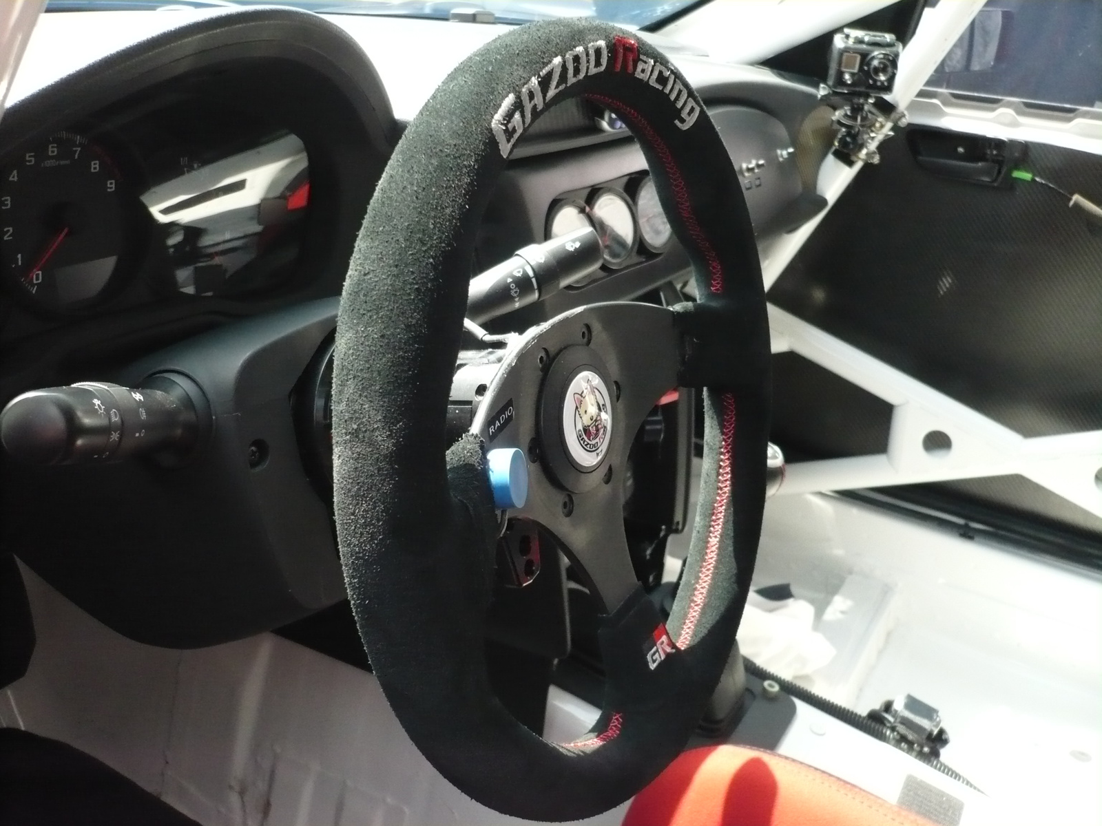 Toyota 86 Gazoo Racing N24 interior cockpit
