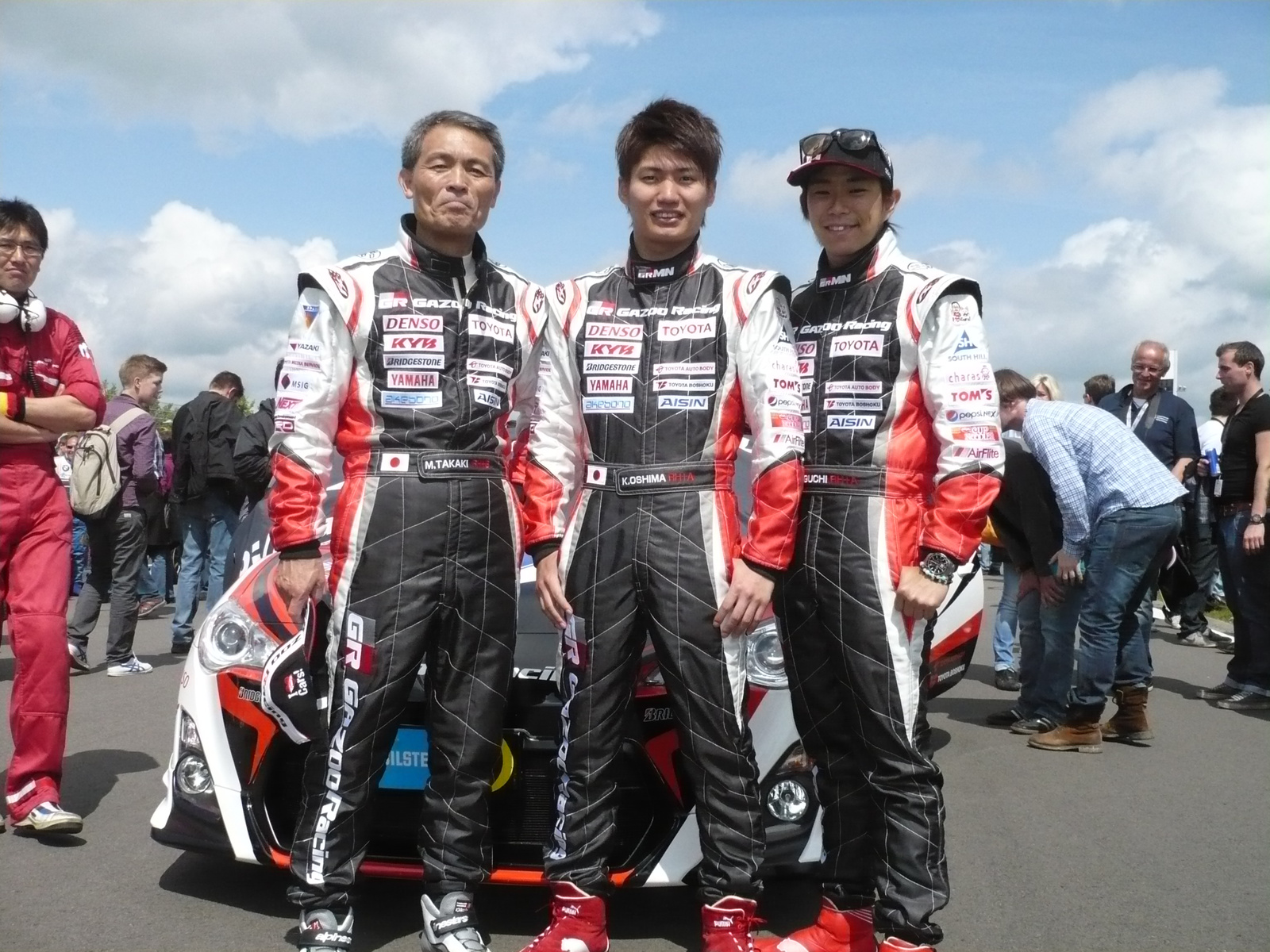 Toyota 86 Gazoo Racing N24 team