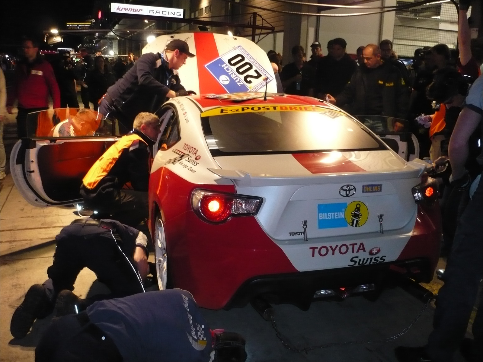 Toyota 86 swiss racing team gt86