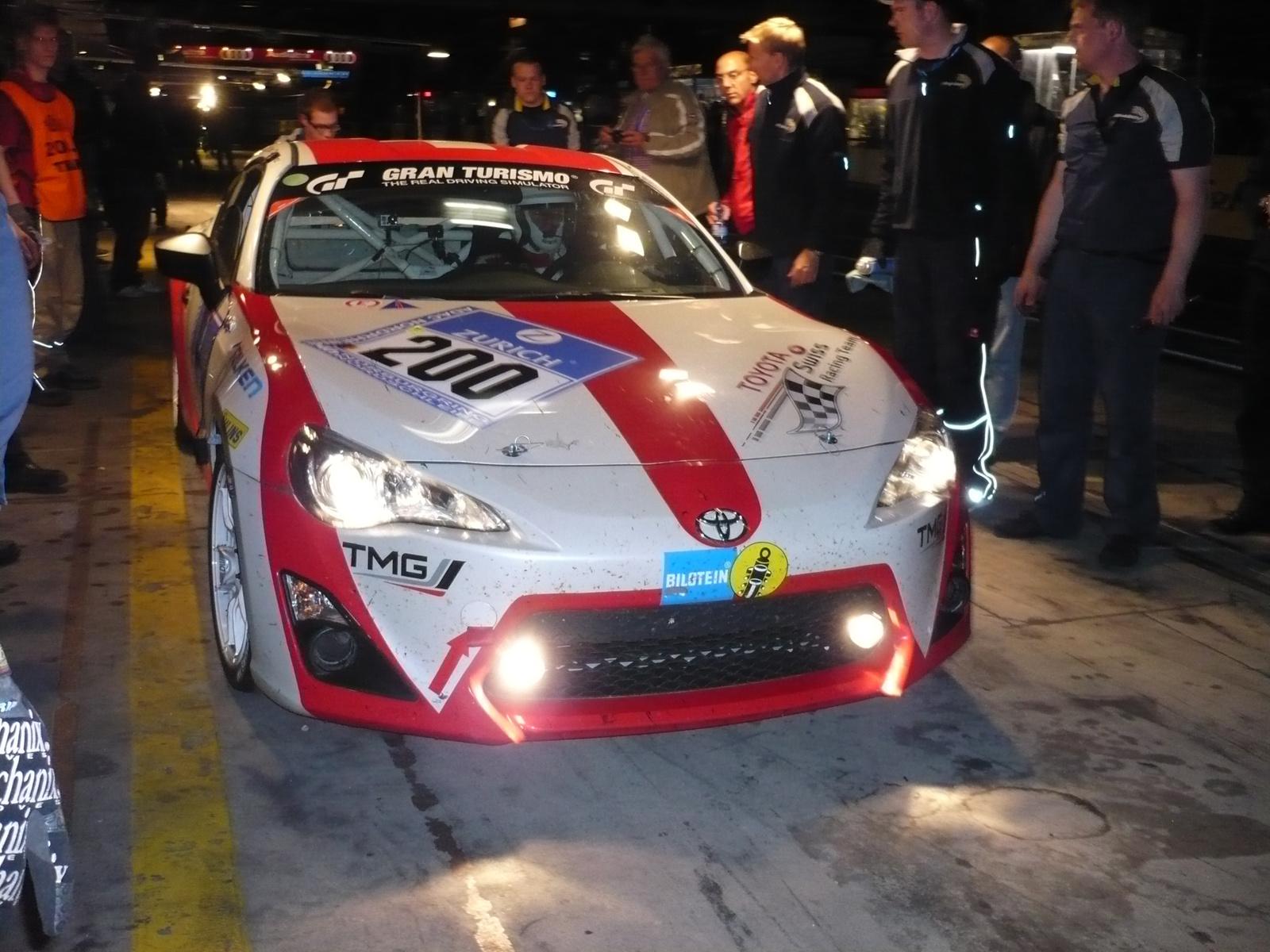 Toyota 86 swiss racing team gt86 front