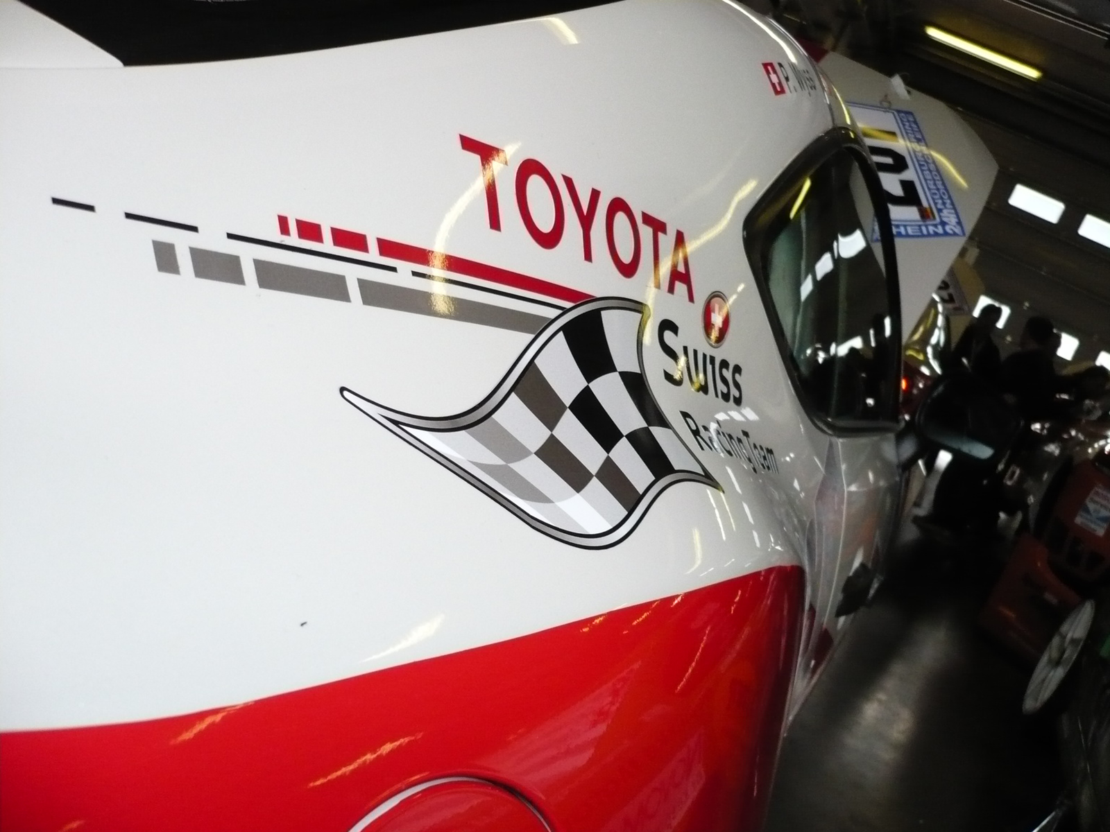 Toyota 86 swiss racing team gt86 rear fender