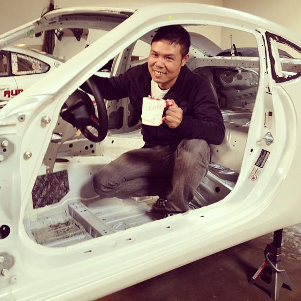 Toshiki Yoshioka Subaru BRZ