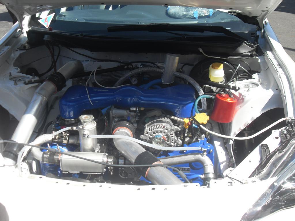 Toshiki Yoshioka Subaru BRZ Formula engine bay