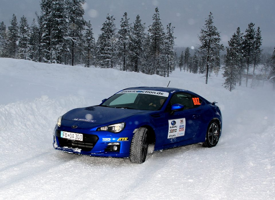 05 Horst Subaru BRZ winter rally test