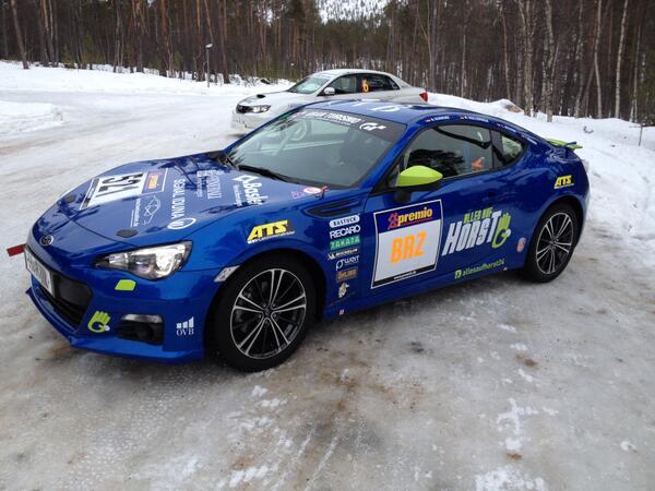 18 Horst Subaru BRZ finland ice